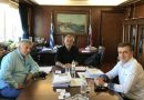 Συνάντηση Δημάρχου Πειραιά κ. Γιάννη Μώραλη με τον νέο Δ/ντή της Αστυνομικής Δ/σης Πειραιά, Ταξίαρχο κ. Π. Γεωργόπουλο
