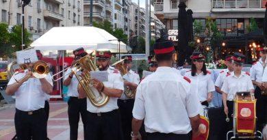 Mουσικοί περίπατοι της Φιλαρμονικής του Δήμου Πειραιά