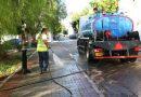 Καθαρισμός & εξωραϊσμός της πλατείας στην συμβολή των οδών Μουτσοπούλου & Βασιλικών στα Καμίνια