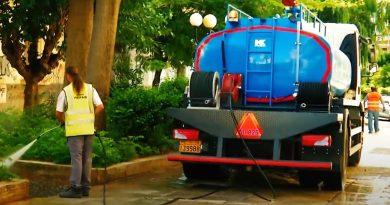 Επιχείρηση καθαριότητας στην Ε΄ Δημοτική κοινότητα από τον Δήμο Πειραιά