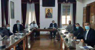 Σύσκεψη στο Ε.Β.Ε.Π. για το πλαίσιο δράσης του Κέντρου Αριστείας στη Ναυτιλία (ΚΑΝ)