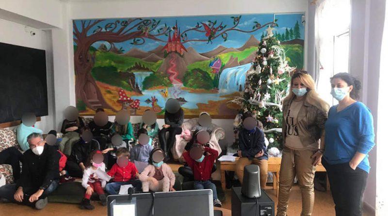 Διαδικτυακή Χριστουγεννιάτικη γιορτή των παιδιών του Καλού Ποιμένα