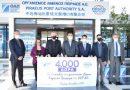 4000 δώρα πρόσφερε η ΟΛΠ Α.Ε για τα παιδιά των γειτονικών Δήμων