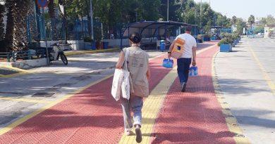 Κοινωνική δράση του Δήμου Πειραιά για την προστασία των αστέγων από τις υψηλές θερμοκρασίες
