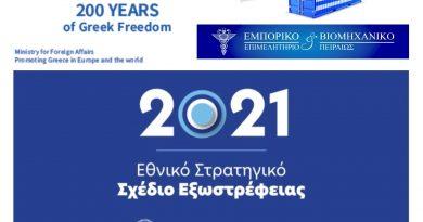 Το Ε.Β.Ε.Π. ενημερώνει για το Εθνικό Σχέδιο Εξωστρέφειας της Ελλάδας